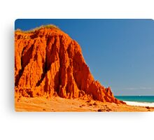 Red Rock  James Price Canvas Print