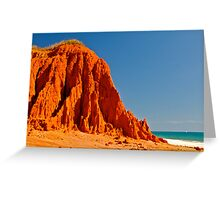 Red Rock  James Price Greeting Card