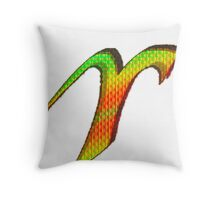Aries Psychedelic Throw Pillow