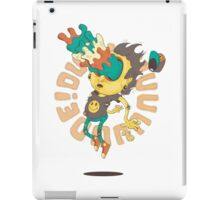 Acid Eyes Yellow iPad Case/Skin
