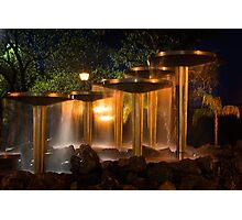Renmark Fountain  Photographic Print