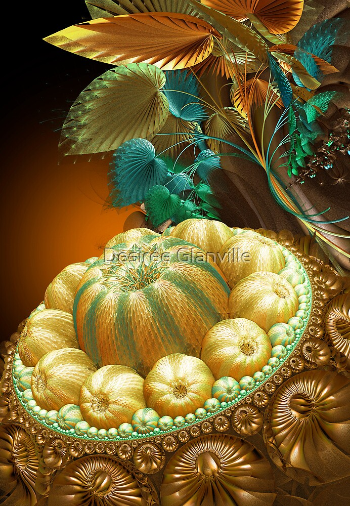 Pumpkin Pie anyone?? by Desirée Glanville