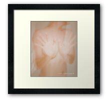 Shower Gloss © Vicki Ferrari Framed Print