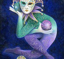 Carnivale Juggler by Karen  Hull