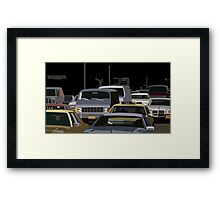 5th Avenue Brawl Framed Print