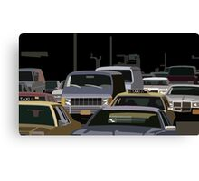 5th Avenue Brawl Canvas Print