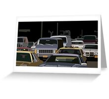 5th Avenue Brawl Greeting Card