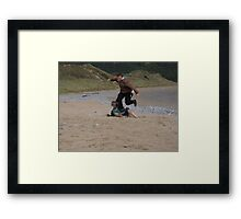 Sibling Rivalry 1 Framed Print