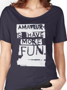 AMATEURS Women's Relaxed Fit T-Shirt