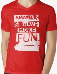 AMATEURS Mens V-Neck T-Shirt