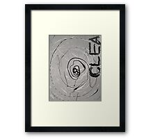 Clea - Guess The Hand Framed Print