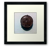 Votes for Women - spare a penny guv? Framed Print