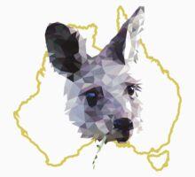 Tshirt Kangaroo & Australia Kids Tee