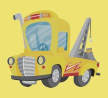 Tow Truck (Ground Vehicles) Kids Tee