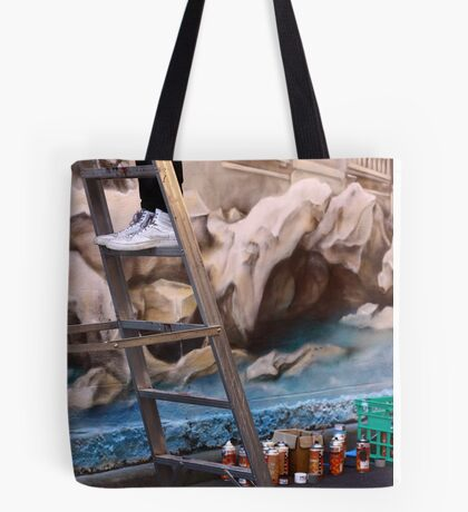 Shhhh, artist at work! Tote Bag