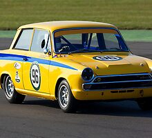 Ford Lotus Cortina Mk 1  by Norfolkimages