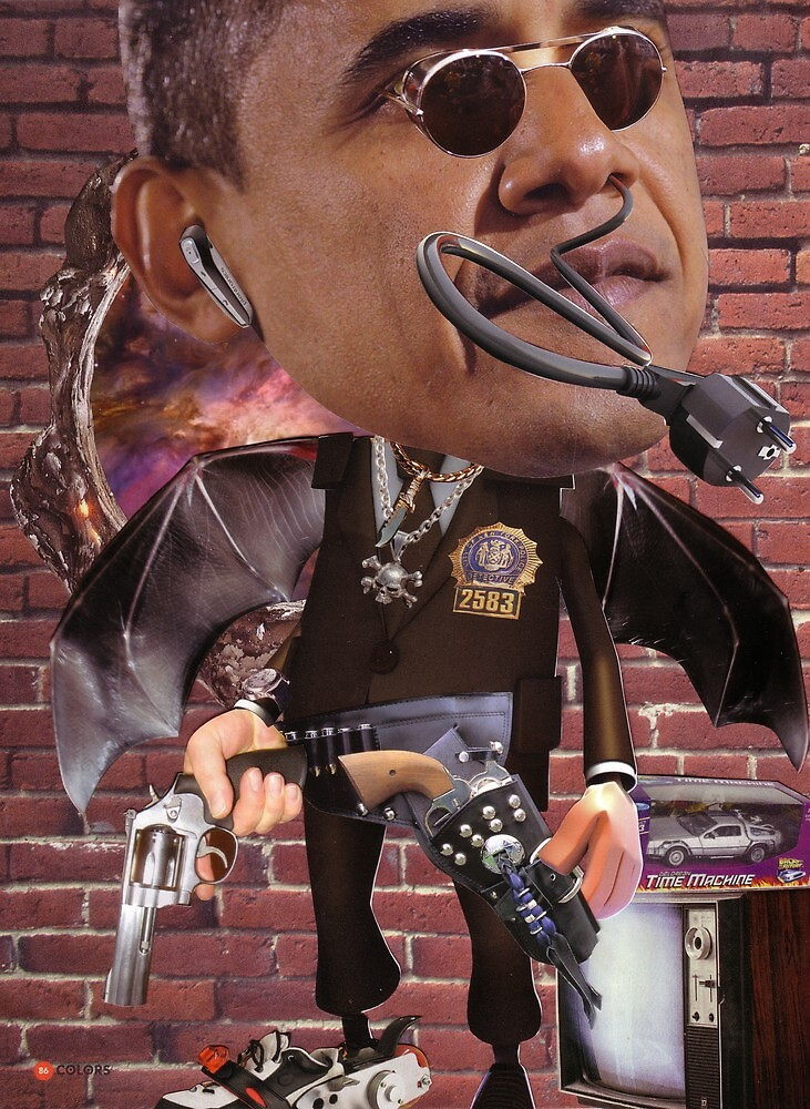 """""""Obama...Time-Cop""""....Equinox Transfusion of the Space/Time Continuum"""" by atomikboy"""