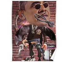 """Obama...Time-Cop""....Equinox Transfusion of the Space/Time Continuum"" Poster"