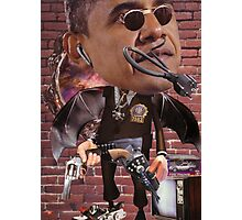 """""""Obama...Time-Cop""""....Equinox Transfusion of the Space/Time Continuum"""" Photographic Print"""