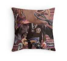 """Obama...Time-Cop""....Equinox Transfusion of the Space/Time Continuum"" Throw Pillow"