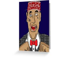 Pee Wee Loc Dog Greeting Card