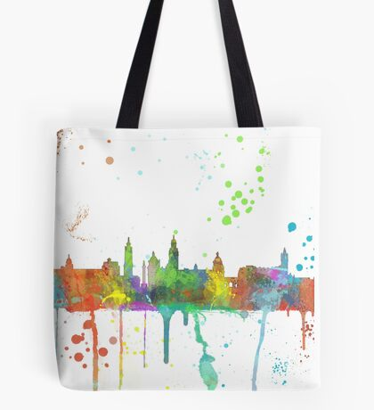Glasgow Skyline Tote Bag