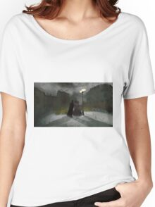 Jack the Ripper On the Hunt by Sarah Kirk Women's Relaxed Fit T-Shirt