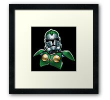 Star Wars - Stormtrooper - Green Lantern Framed Print