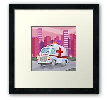 Ambulance (Ground Vehicles) Framed Print