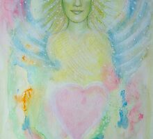 An angel´s heart by Lilaviolet