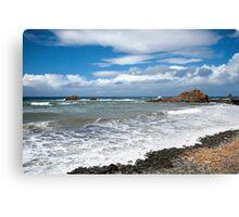 Atlantic ocean coastline Tenerife Canvas Print