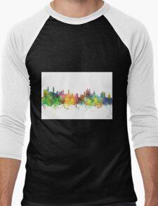 Cambridge Skyline Men's Baseball ¾ T-Shirt