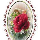 New Rose - Birthday Card by judygal
