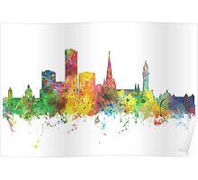 Birmingham, England Skyline Poster