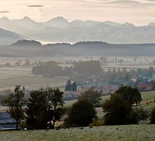 Frosty Morning in the Bernese Oberland by Mark Howells-Mead