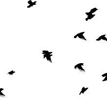 Birds Flying by eadingtonanne