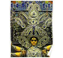 Durga Puja, Ballygunge Cultural Association, Ballygunge, Kolkata, India Poster
