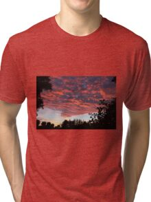 Sunset in august Tri-blend T-Shirt