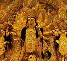 Durga Puja, 2010, Maddox Square, Kolkata, India by mahe316