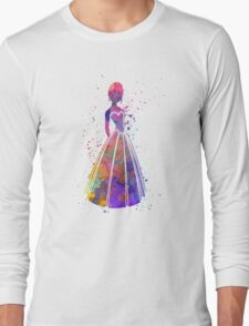 Anna in watercolor Long Sleeve T-Shirt