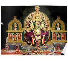Durga Puja, 2010,Suruchi Sangha, New Alipore, Kolkata, India Poster