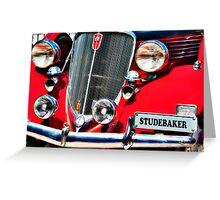 1934 Studerbaker Dictator Classic American Car Greeting Card