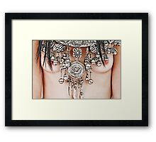 The Chieftain's Daughter Framed Print