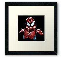 Star Wars - Stormtrooper - Spiderman Framed Print