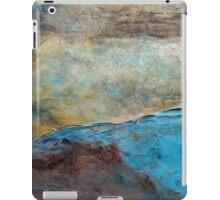 "Large Wall Art , Abstract art, Contemporary art, Original textured painting, Nature Wall Art ""Canyon Sunset"" iPad Case/Skin"