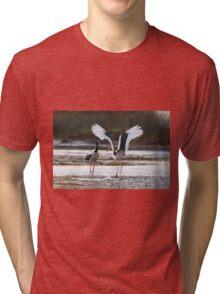 Sunset Bill Clacking Tri-blend T-Shirt