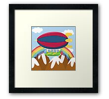 ZEPPELIN (AERIAL VEHICLE) Framed Print