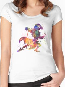 Captain Hook in watercolor Women's Fitted Scoop T-Shirt