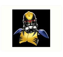 Star Wars - Stormtrooper - Wolverine - X-Men Art Print