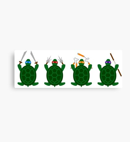 Mini Turtels Canvas Print